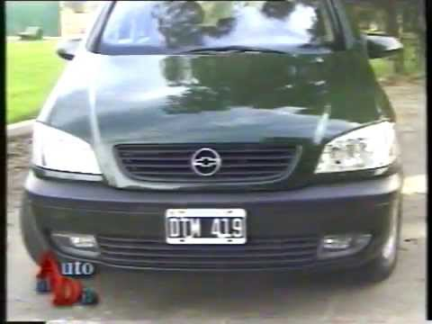 Test Chevrolet Zafira Gls 2 0 16v 2001 Auto Al Da Youtube