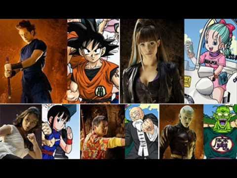 Dragonball Evolution The Characters