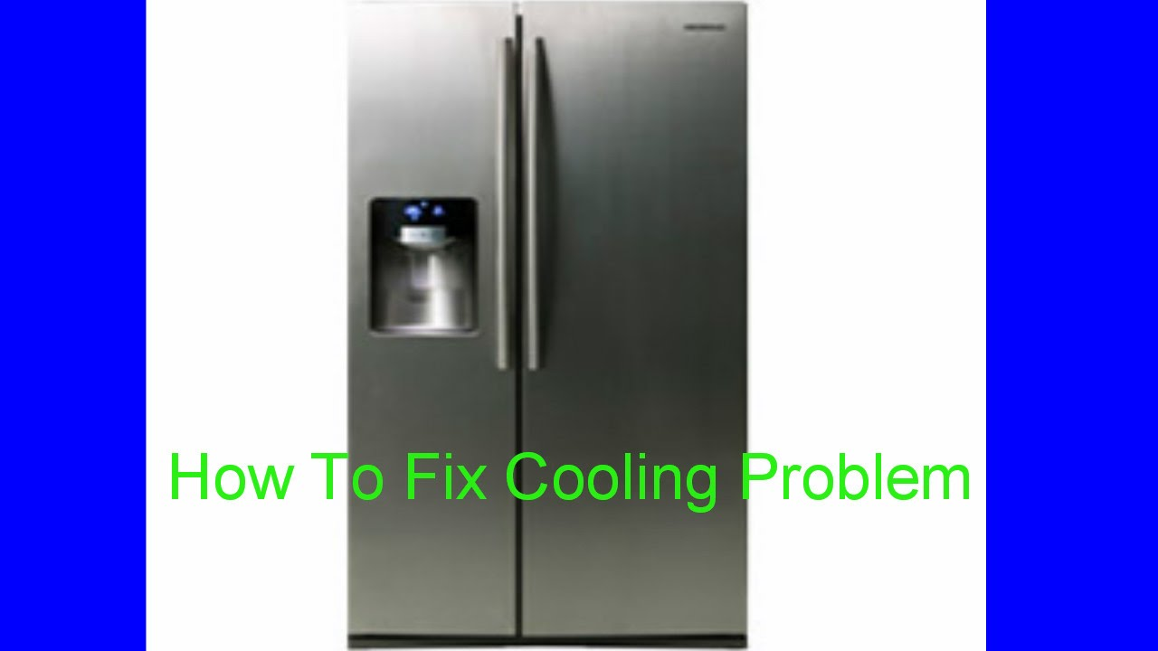 Samsung Rs267 Refrigerator Side Not Cooling How To Fix Cooling Problem Youtube