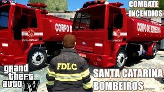 GTA IV - Caminhão Tanque | Bombeiros de Santa Catarina #2