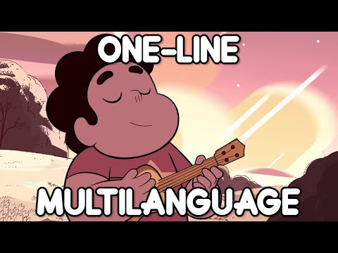 Steven Universe - Peace and Love (One-line Multilanguage) (16 Languages)