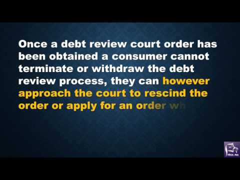 How To Remove Your Debt Review Status
