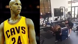 "Lebron james new workout is confusing to richard jefferson: ""what the f**k is that!?"""