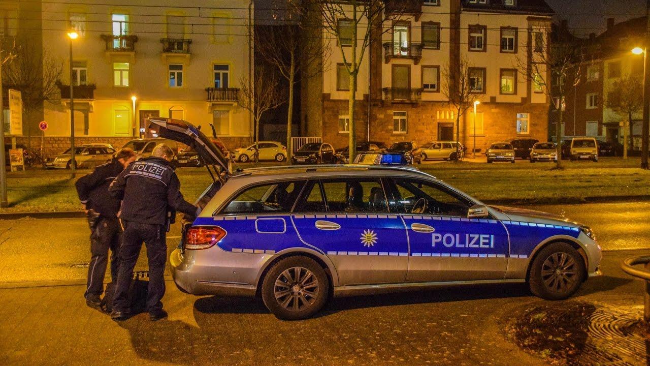 Karlsruhe Polizeieinsatz