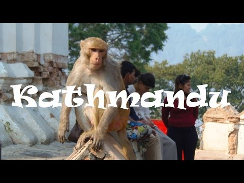What to See in KATHMANDU, NEPAL: Visiting the Monkey Temple