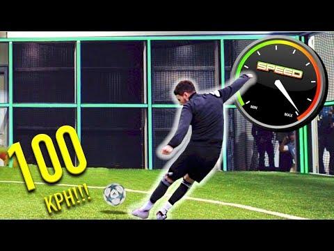 F2 VS FOOTBONAUT  IMPOSSIBLE 100 KPH FOOTBALL CHALLENGE!!