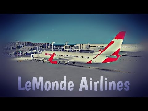 ROBLOX | LeMonde Airlines Boeing 737-800 Flight