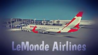 ROBLOX | LeMonde Airlines Boeing 737-800 Flight