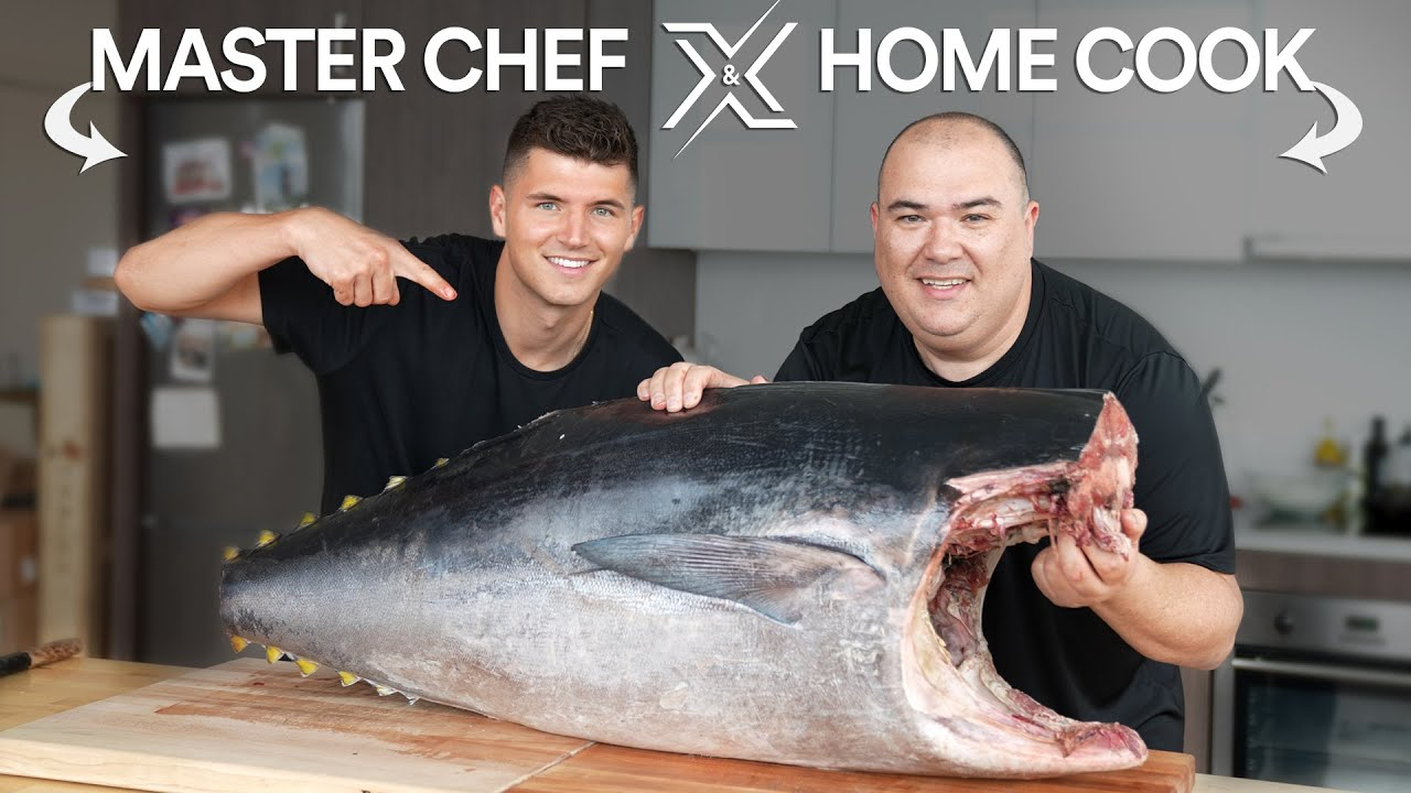 We cooked a $3000 Bluefin TUNA, It's EPIC!