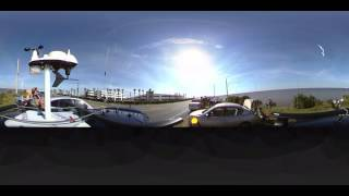 First Ever NASA rocket launch in 360° - SpaceX CRS8 Resupply Cargo Mission to the ISS