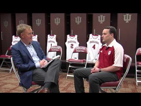 WATCH: One-on-one with Indiana University men's basketball coach Archie Miller