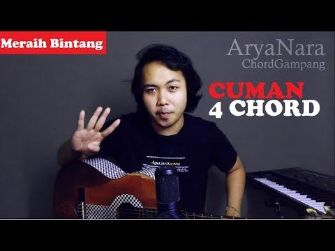Chord Gampang (Meraih Bintang - Via Vallen) by Arya Nara (Tutorial Gitar)
