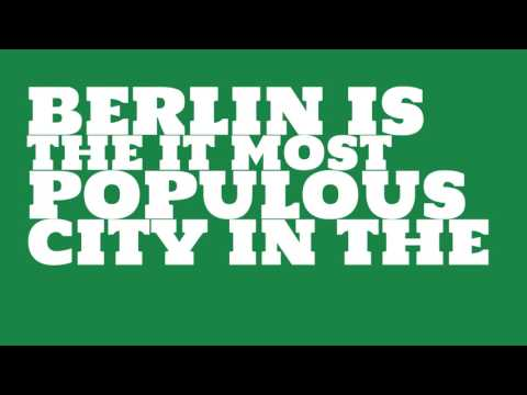 What is the population density of Berlin?