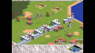 Age of Empires 1 Greeks level 6 Siege of Athens HD