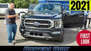 2021 Ford F150 PowerBoost Hybrid - First Look at New Exterior, Interior, Engines and More!