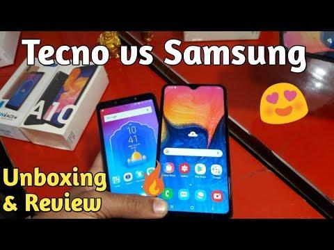 Tecno Camon i Ace 2 vs Samsung Galaxy A10 Unboxing & Review [Hindi]