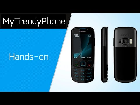 Nokia 6303i classic - Unboxing
