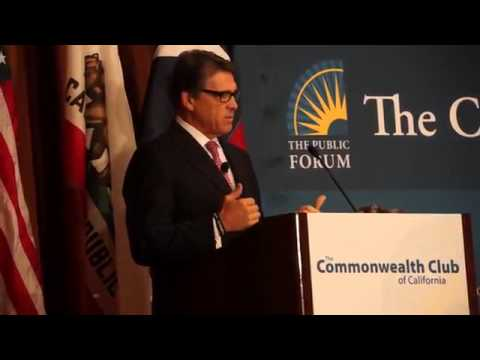 Rick Perry [FULL SPEECH] at Commonwealth Club event in San Francisco