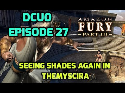 DCUO - Amazon Fury pt. 3: Seeing Shades Again in Themyscira.