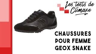 Test d'une paire de chaussures Geox Snake pour femme (taille 39)