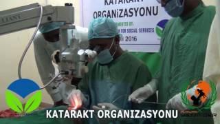 Avrupa Yetim Der den Somali de katarakt ameliyatı