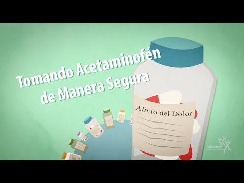 Tomando Acetaminofén De Manera Segura