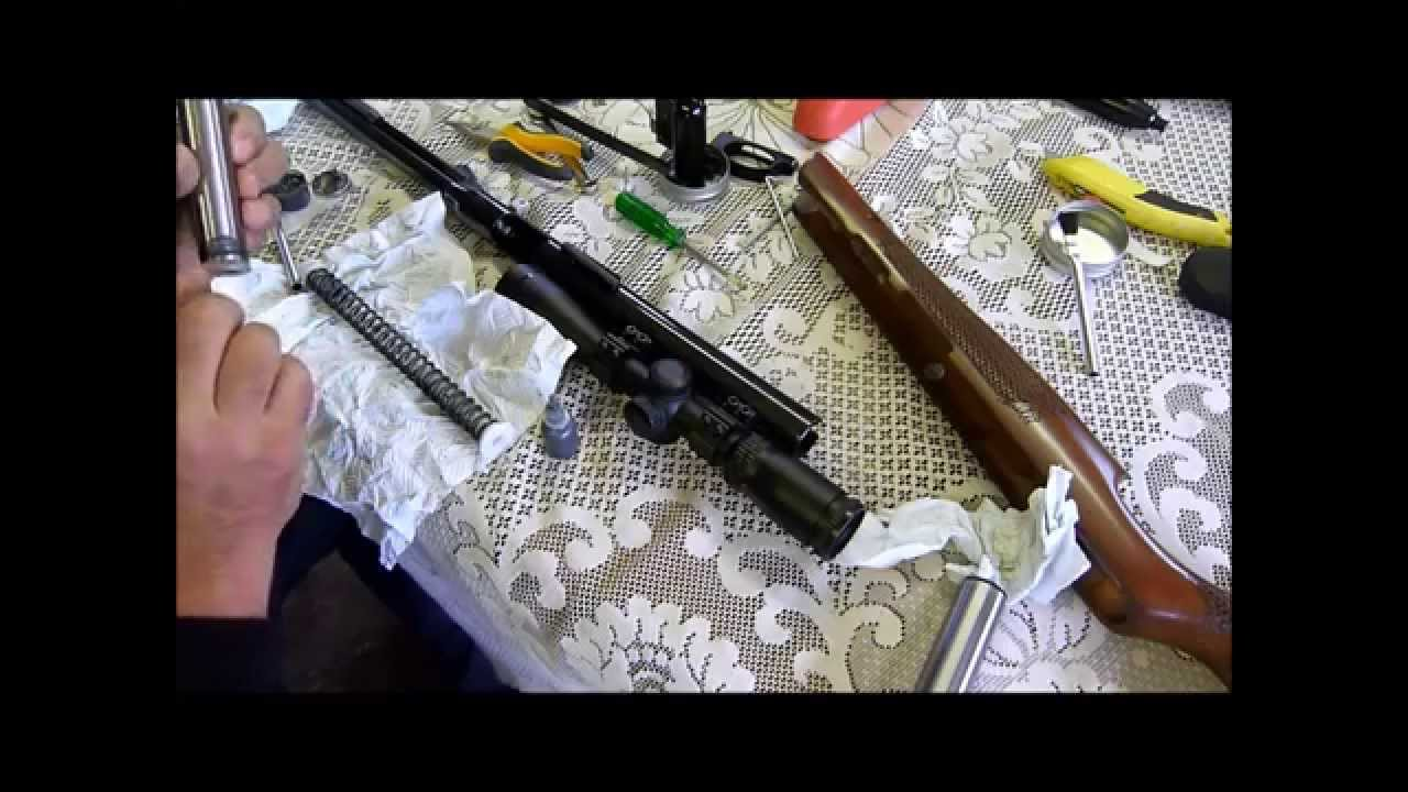 Tutorial - Air Arms TX200 Strip, relube and reassembly
