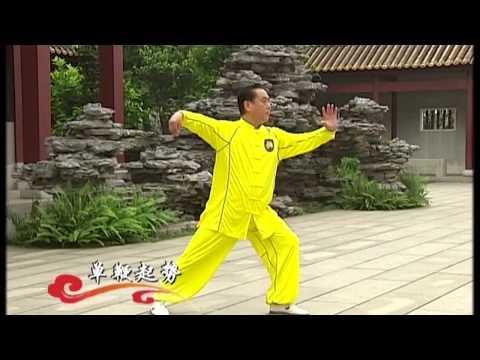 Taijiquan 4 Duan  Yang style - Chinese Wushu Duanwei System - Tai chi - taiji