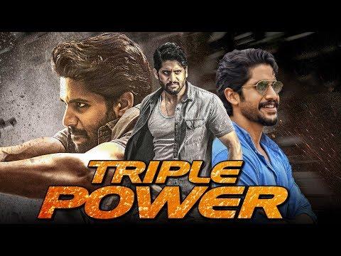 Triple Power (2019) Telugu Hindi Dubbed Full Movie | Naga Chaitanya, Kajal Aggarwal, Srikanth