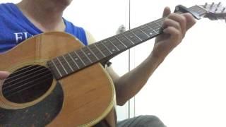 Về quê ngoại-Ngọc Sơn - guitar solo - cover