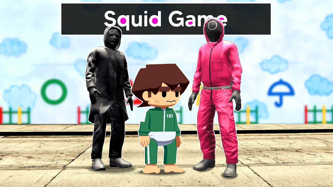 Download Adopted In SQUID GAME In GTA 5!