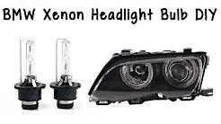 How To Change BMW Xenon Headlight Bulb