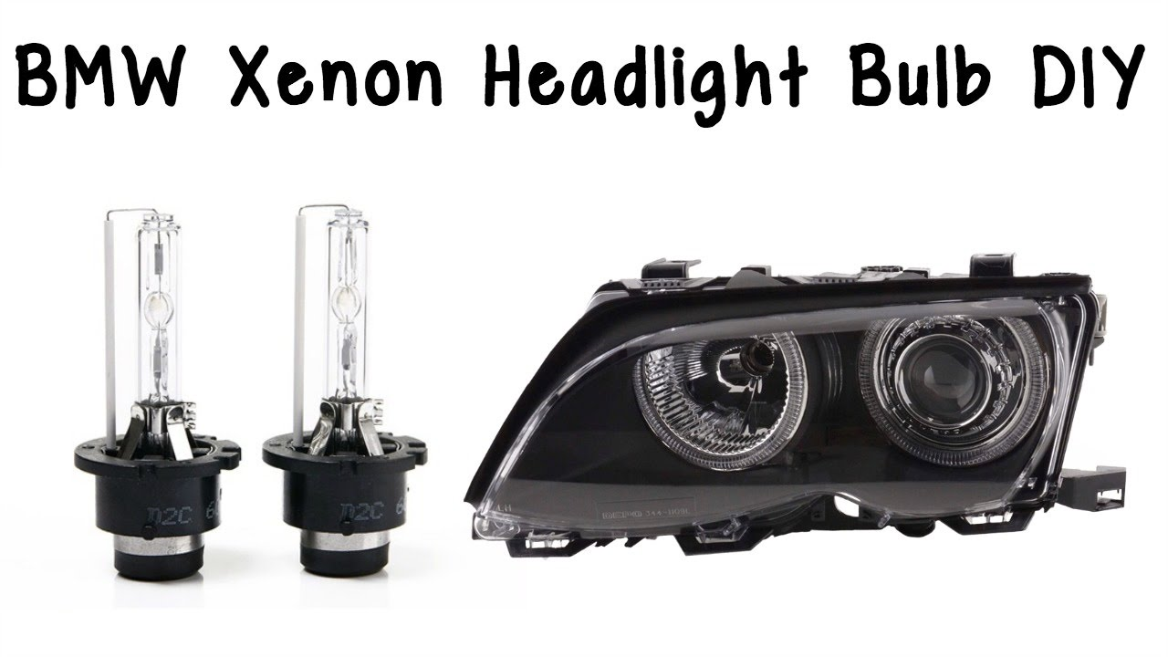 Bmw Xenon Headlight Bulb How To Change Bmw Xenon Headlight