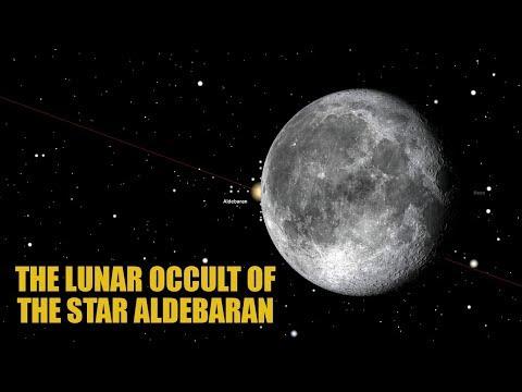 The Lunar Occult of the Star Aldebaran