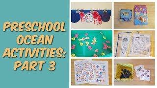 Preschool Ocean Activities // Part 3