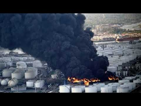 Toxic Chemical Inferno Threatens Houston Area As Black Plume Extends For Miles