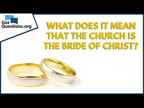 What does it mean that the church is the bride of Christ