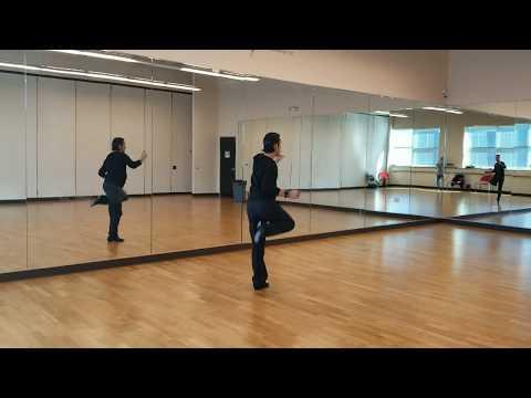 E.C.Swing/Jive: Kick ball change, points and kicks, sailor shuffle, and chicken walks