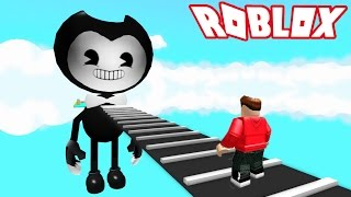 ESCAPE EVIL BENDY OBBY! (Roblox Adventures) RedHatter