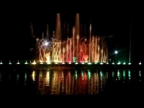 Jawahar circle water show, Jaipur pinkcity