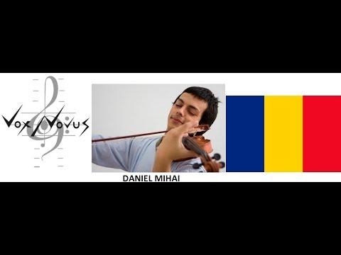 "Robert Voisey  ""Annealing"" Daniel Mihai, violin   VNR22OCT2015"