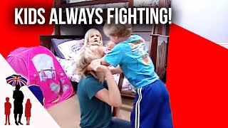 Kid's Can't Stop Fighting | Supernanny