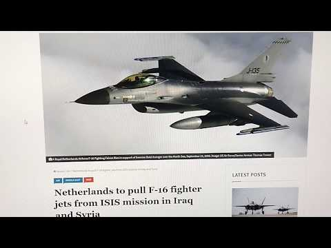 *STARTLING NEW DEVELOPMENT IN CARIBBEAN SEA(!)DUTCH F-16 FIGHTER JETS TRANSFERRED(!)