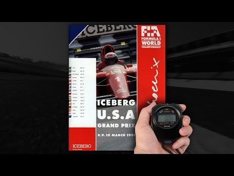 HSO 1991 F1 | Qualifying Session 2 | Phoenix