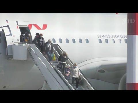 Десятки рейсов запланированы для вывоза российских туристов из других стран, закрывающих границы.