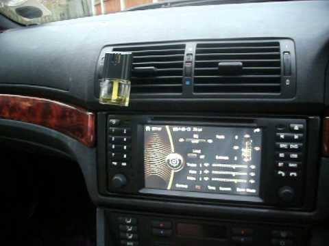 E38 Amplifier Diagram Bmw 5 Series E39 Aftermarket Headunit Review 7 Quot Chinese