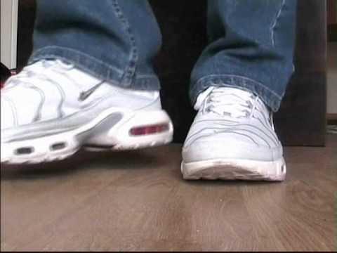 Shoeplay #4 - Nike TNs leather - YouTube