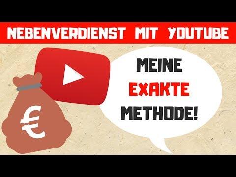 Das ist die EXAKTE METHODE mit ich mir mit Youtube ein 4-stelliges mtl Nebeneinkommen aufgebaut habe
