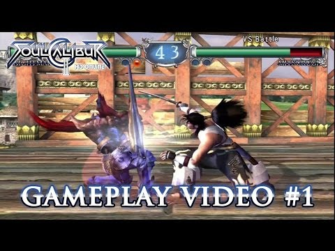 Nightmare and Mitsurugi face off in Soulcalibur 2 HD Online trailer