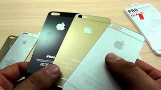 ОБЗОР: Заднее Защитное Стекло (вместо пленки) для iPhone 5(, 2016-03-17T13:33:40.000Z)